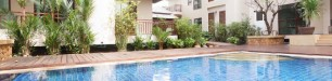 Swimming pool and outside Thailand 2